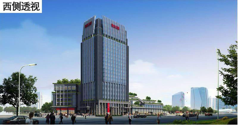 苏州新光三越建筑效果图及平面规划图高清图片