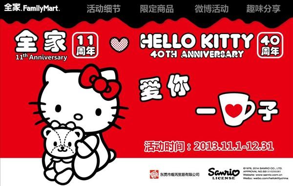 全家便利店11周年HelloKitty活动方案