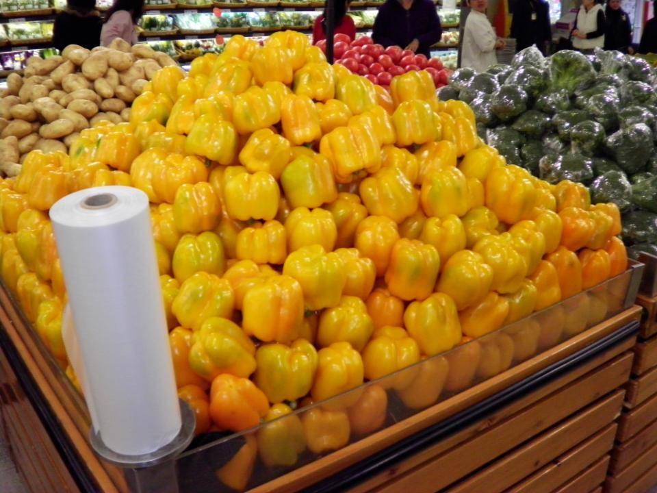 生鲜的基础陈列和品质管控蔬菜图片