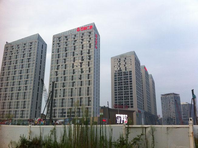 南昌红谷滩万达广场建筑设计欣赏