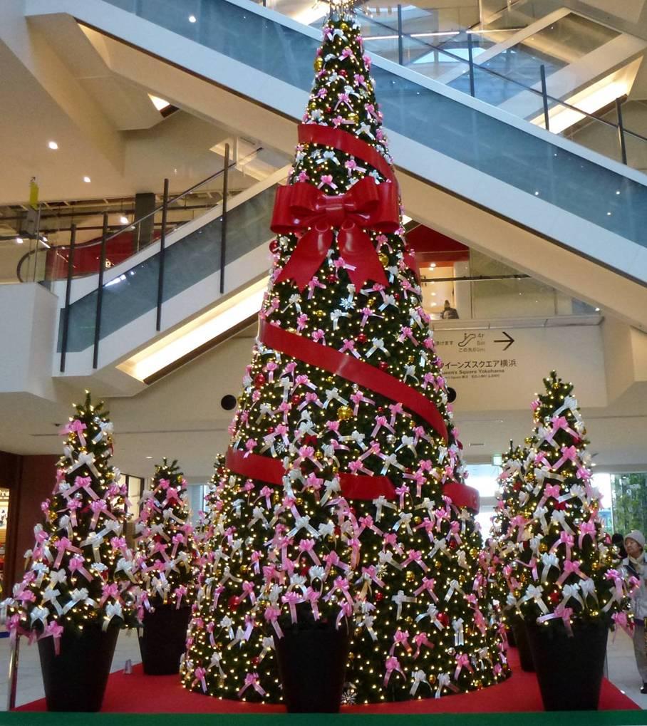 日本百货店的圣诞装饰