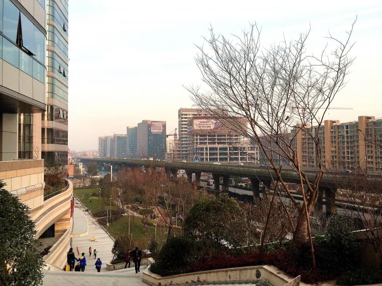 中大银泰城外围商业设计