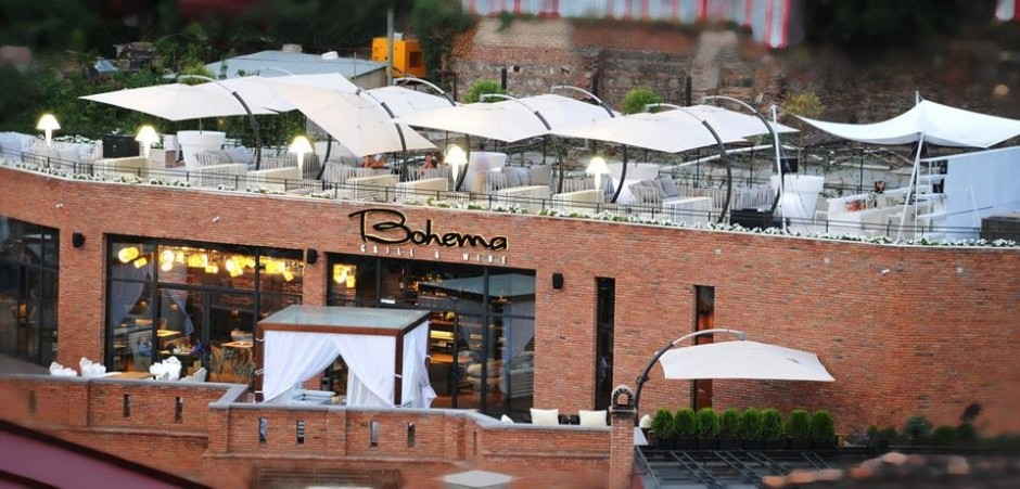 格鲁吉亚Bohema餐厅设计一览