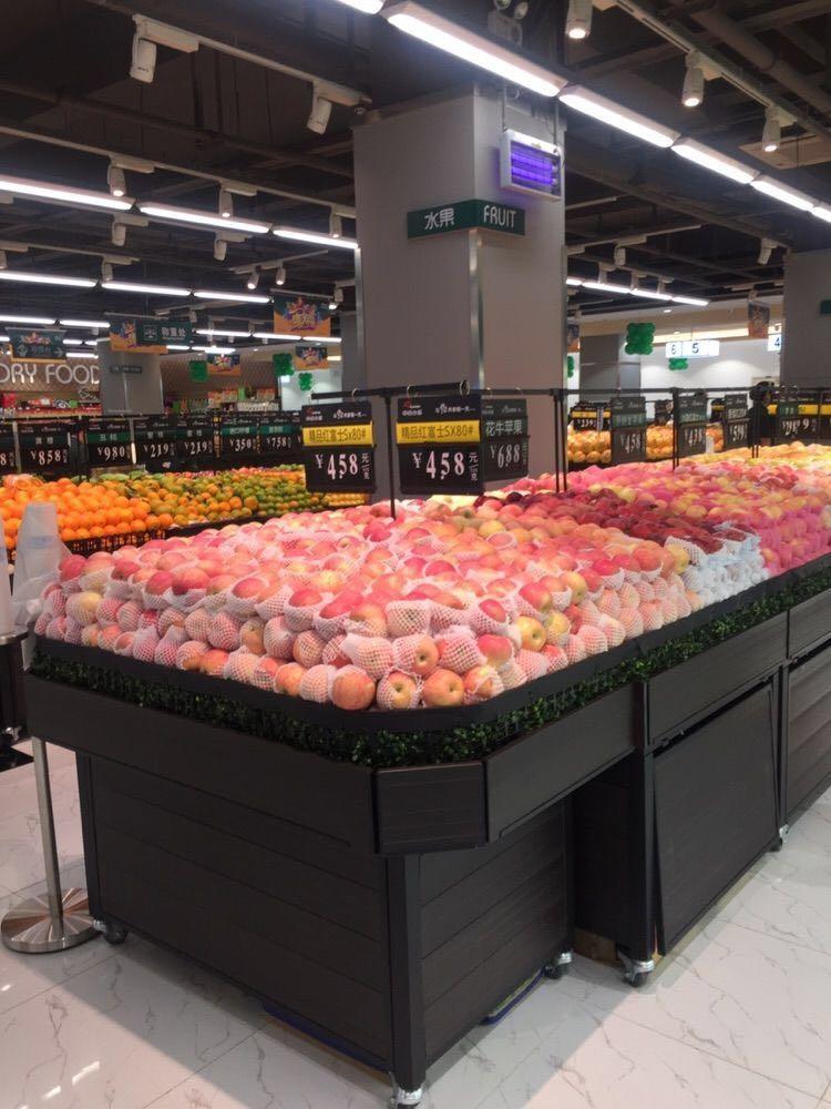 新品种蔬菜图片_中百首家食品超市中百仓储北湖店正式营业_联商网