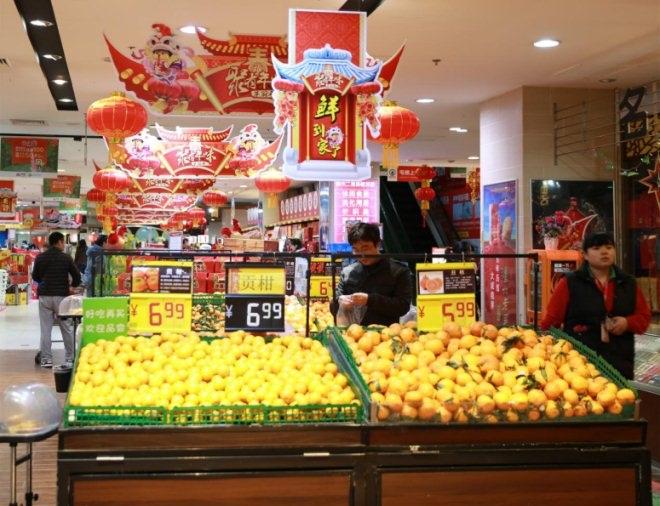 不知火柑,越南的火龙果等,那都是从产地采完就坐上车直达华冠超市图片